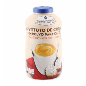 Bote de sustituto Members Mark´s de crema para café