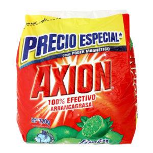 Detergente en polvo AXION 750gr