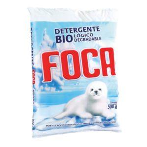 Paquete con 40 bolsas de detergente en polvo marca ARCOIRIS con 450 gr