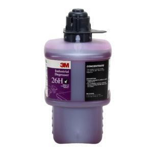 Líquido 26H para sistema Twist & Fill 3M, Desengrasante Industrial, Rinde 279 litros diluidos
