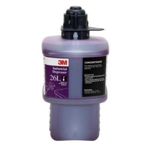 Líquido 26L para sistema Twist & Fill 3M, Desengrasante Industrial, Rinde 280 litros diluidos