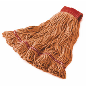 Rubbermaid FGA15306OR00 Web foot en algodón de 24 Oz color naranja con 5 pulgadas de banda sujetadora