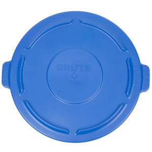 Rubbermaid 1779636 tapa Brute autodrenable color azul, aplica contenedor Brute de 44 galones