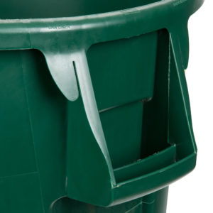 Rubbermaid 1779741 contenedor Brute color verde con capacidad para 44 galones