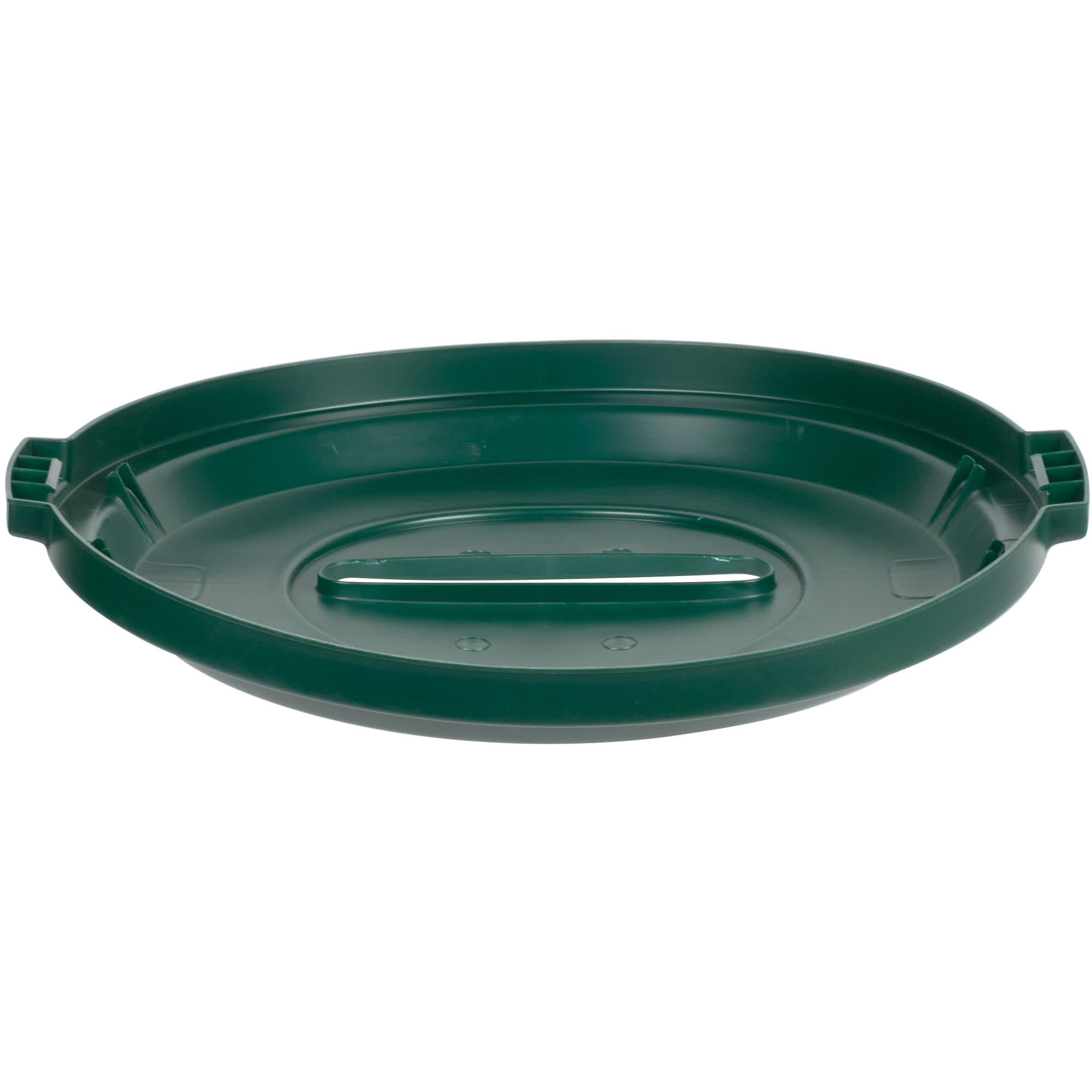 Rubbermaid 1788379 tapa Brute color verde para reciclaje de papel, aplica contenedor Brute de 32 galones      2