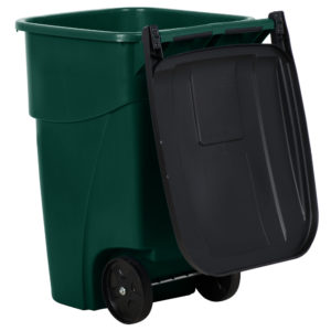 Rubbermaid 1829411 contenedor brute  roll-out  con capacidad para 50 gal, color verde