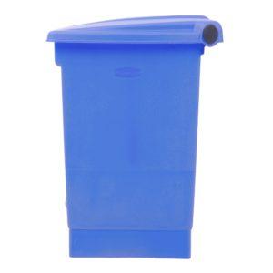 Rubbermaid 1829416 basurero front Step-on con capacidad para 12 galones, color azul con pedal