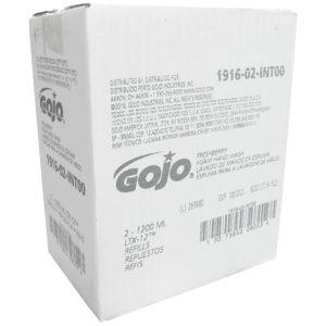 GOJO 1916-02 Jabón en espuma con fragancia a granada frutal, caja con 2 cartuchos de 1200 ml cada uno