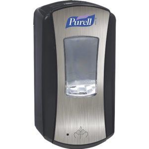 Purell Touch Free 1928-04 color negro y plata automática LTX-12 sanitizante