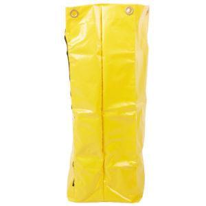 Rubbermaid 1966719 Bolsa de vinil color amarillo, con capacidad para 24 galones, aplica en carritos de limpieza