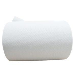 Greymoon 200-60 sistema AD-200 toalla en rollo color blanca hoja sencilla auto-corte, caja con 8 rollos de 200 mts cada uno