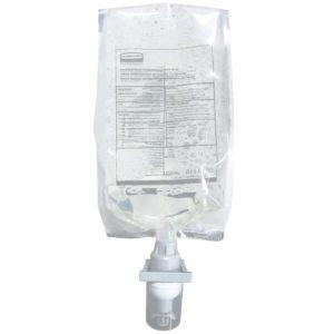 Rubbermaid 2018595 jabón en espuma antibacterial enriquecida con E2 aroma floral, caja con 4 cartuchos de 1100 ml cada uno