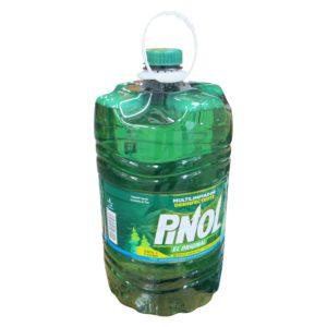 Bidón con 7 litros de aceite de pino limpiador marca PINOL