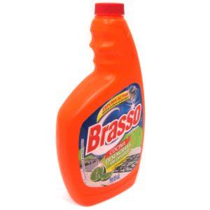 líquido desengrasante marca BRASSO de 650ml