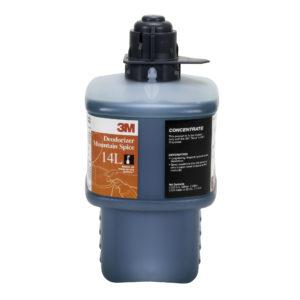 Líquido limpia baños 4L de 2 litros, para sistema Twist & Fill 3M, Rinde 102 litros diluidos