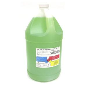 Galón de liquido sarricida
