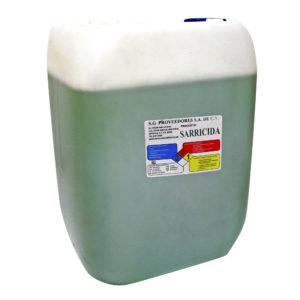 Porrón de liquido quita-sarro