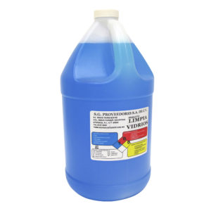 Galón de liquido limpiavidrios