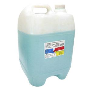 Porrón de liquido limpiavidrios