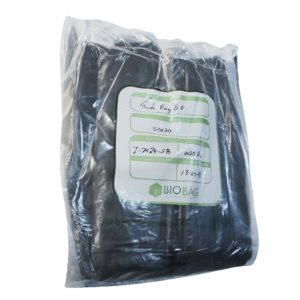 Paquete de bolsa Ruda bag  50 x 70 color  negra con 600 piezas