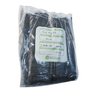 Paquete de bolsa Ruda bag  70 x 90 color  negra con 325 piezas
