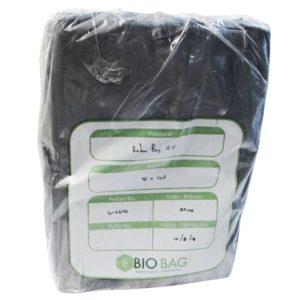 Paquete de bolsa Ruda bag  90 x 1.20 color  negra con 150 piezas