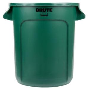 Rubbermaid FG261000DGRN contenedor Brute color verde con capacidad para 10 galones