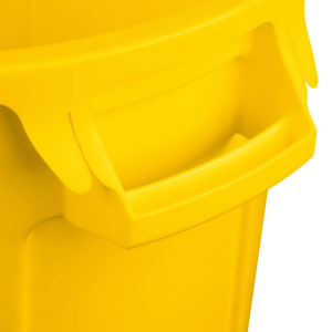 Rubbermaid FG261000YEL contenedor Brute color amarillo con capacidad para 10 galones