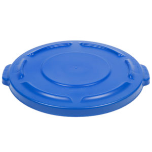 Rubbermaid FG263100BLUE tapa Brute autodrenable color azul, aplica contenedor brute de 20 galones