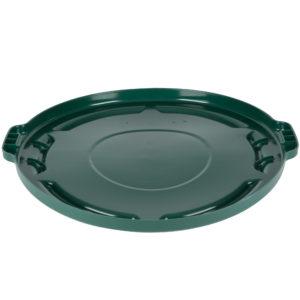 Rubbermaid FG263100DGRN tapa Brute autodrenable color verde, aplica contenedor Brute de 20 galones