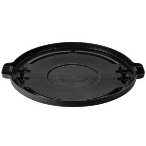 Rubbermaid FG264560BLA tapa Brute autodrenante color negro, aplica contenedor Brute de 44 galones