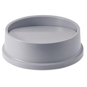 Rubbermaid FG267200GRAY tapa oscilante untouchable color gris, aplica contenedor FG294700 Y FG354600