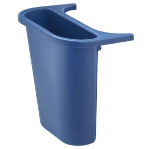 Rubbermaid FG295073BLUE contenedor lateral color azul