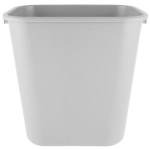 Rubbermaid FG295600GRAY cesto mediano con capcidad para 7 galones, color gris