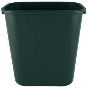Rubbermaid 2031812  cesto mediano con capacidad para 7 galones, color  verde