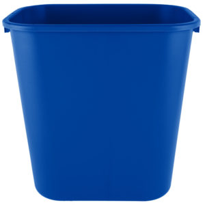 Rubbermaid 2031824  cesto mediano con capacidad para 7 galones, color azul