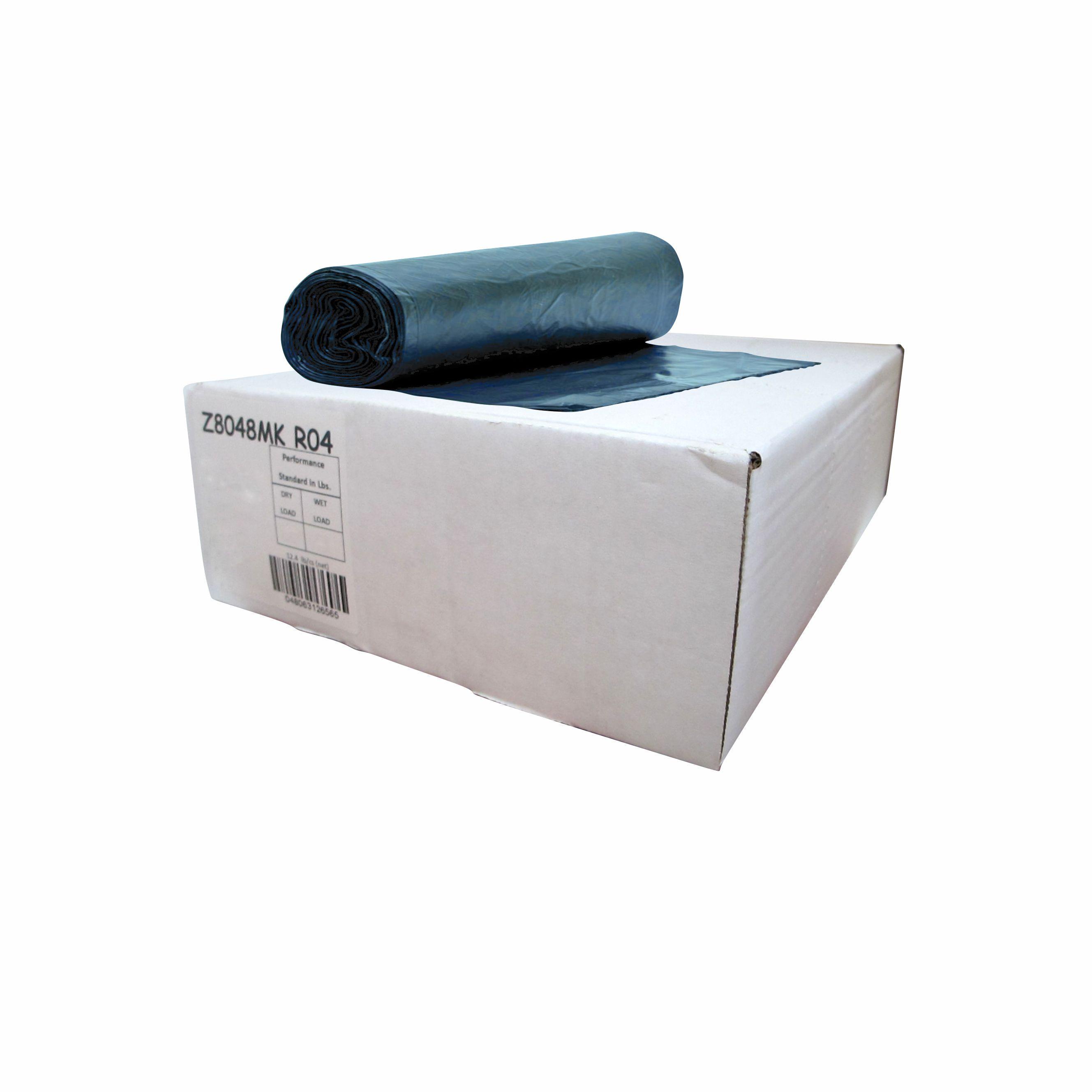 Caja de bolsa en rollo 30 x 43 de color azul con 250 piezas 1