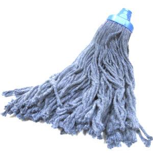 Cabeza repuesto de pabilo color azul para trapeador, no incluye bastón