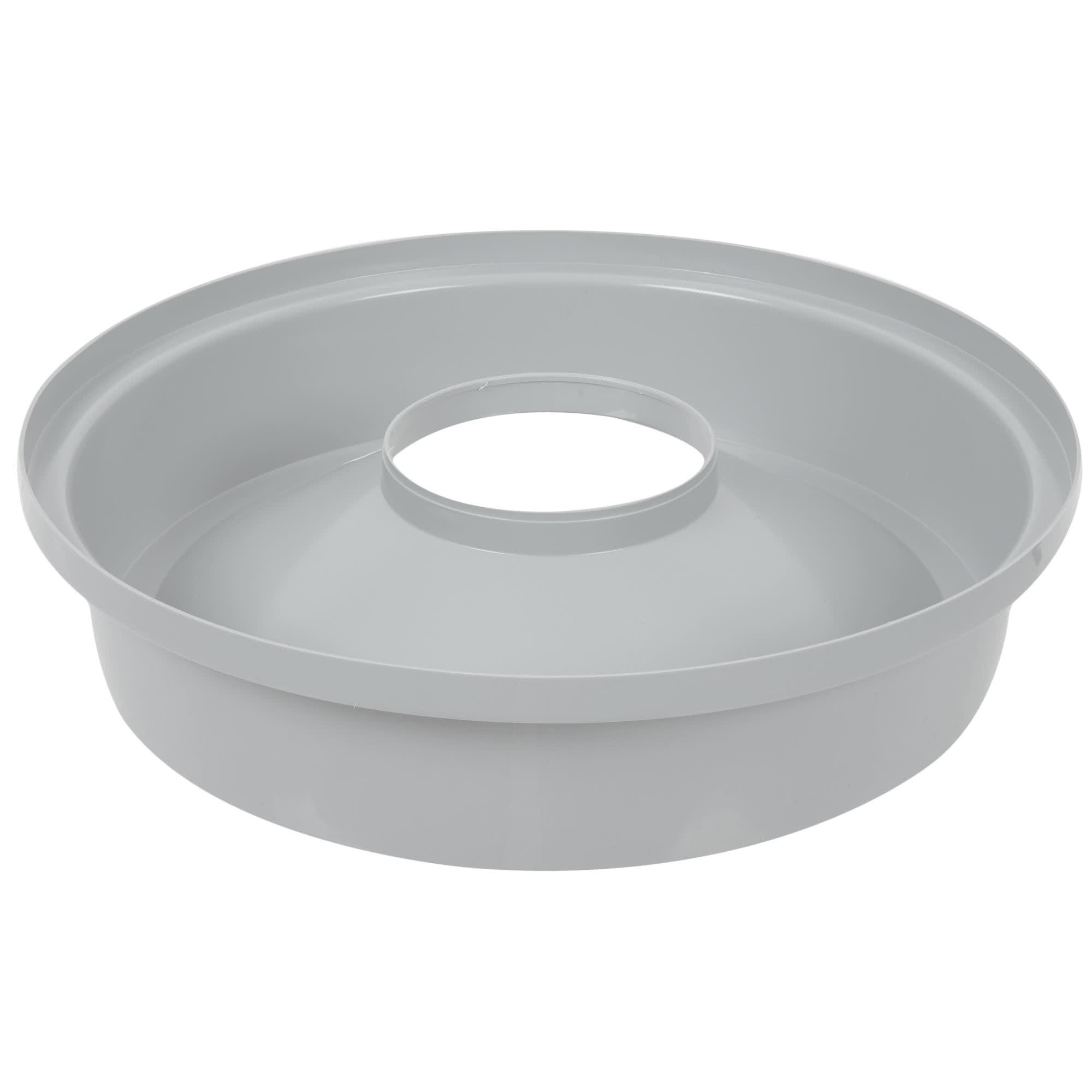 Rubbermaid FG354300GRAY tapa brute color gris round funnel top, aplica contenedor brute de 32 galones 2