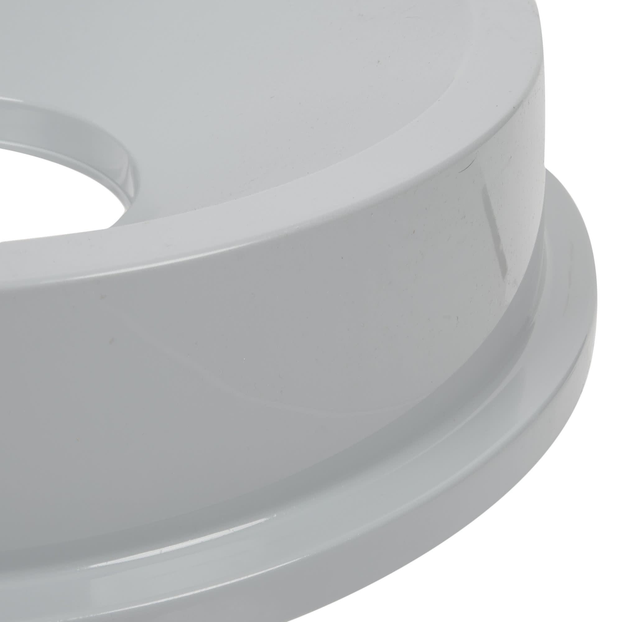 Rubbermaid FG354300GRAY tapa brute color gris round funnel top, aplica contenedor brute de 32 galones 3