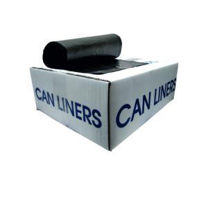 Caja de bolsa en rollo 36 x 60  color negro con 200 piezas