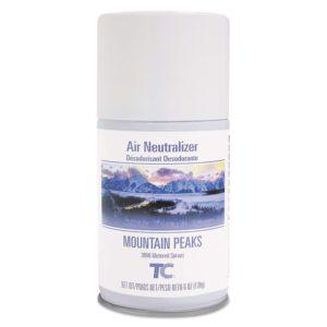 Rubbermaid FG4009851 Spray ambientador para dosificador estandár, aroma montain peaks