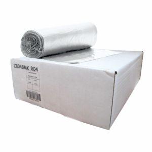 Caja de bolsa en rollo 40 x 48 de color natural con 250 piezas