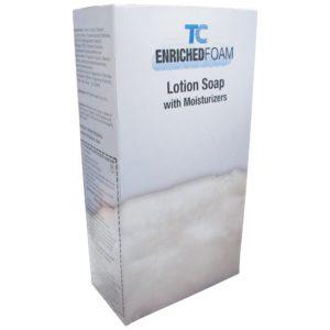 Rubbermaid FG450019 jabón en espuma antibacterial humectante aroma cítrico, caja con cartucho de 800ml integrado para jabonera manual