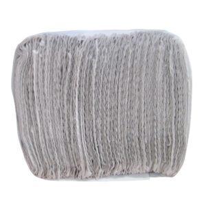 Kimberly Clark toalla interdoblada sanitas color blanco hoja sencilla 24 x 21, caja con 20 paquetes de 100 toallas cada uno