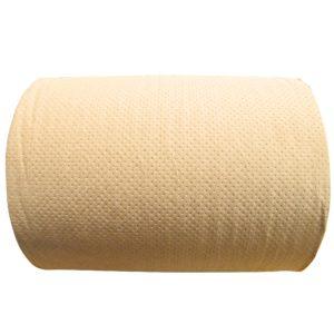 Fapsa K160 toalla rollo eco craft hoja sencilla color marrón, caja con 6 rollos de 160 metros cada uno