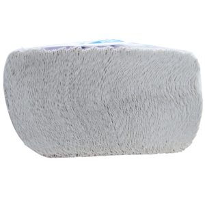 Elite 6015 toalla Interdoblada hoja doble color blanca 21 x 24, caja con 20 paquetes de 100 piezas cada uno