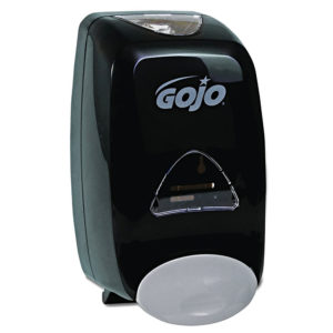 GOJO 5155-06 color negra operación manual FMX-12 jabón en espuma