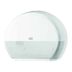 Tork 555000 despachador de higiénico Elevation Mini jumbo, color blanco