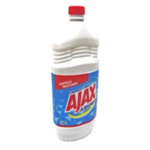 líquido con acción amoniaco marca AJAX Amonia de 1L